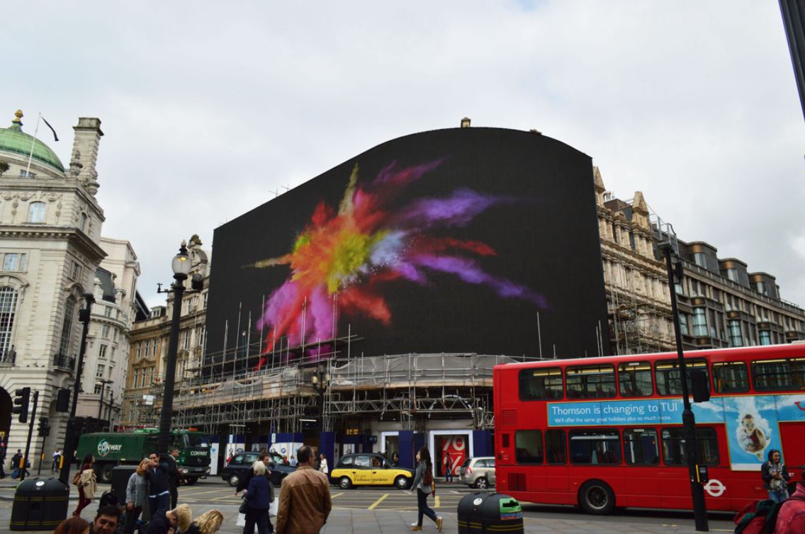 Piccadilly Circus_billboard screen